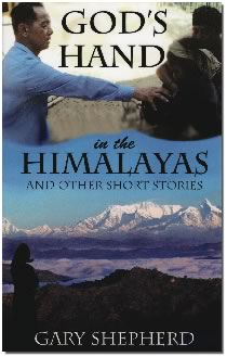 God's hand in the himalayas - book cover